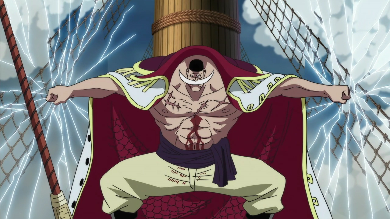 10 things you should know about whitebeard edward newgate one piece gold - Newgate one piece ...