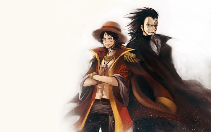 Relationship Between Luffy And Monkey D Dragon