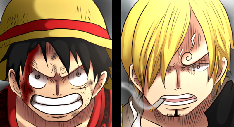 luffy and sanji relationship
